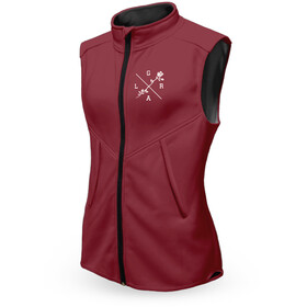 Loose Riders Technical Vest Women, burgundy